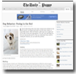 The Daily Puppy: Dog Behavior: Peeing in the Bed