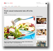 JLL: Fresh Casual Restaurants take off in the U.S.