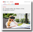 JLL Real Views: Is virtual reality the future of the hospitality industry?