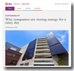 JLL Real Views: Why Companies are storing energy for a rainy day