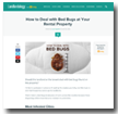 Landlordology: How to Deal with Bed Bugs at Your Rental Property