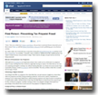 Yahoo! News: First Person: Preventing Tax Preparer Fraud